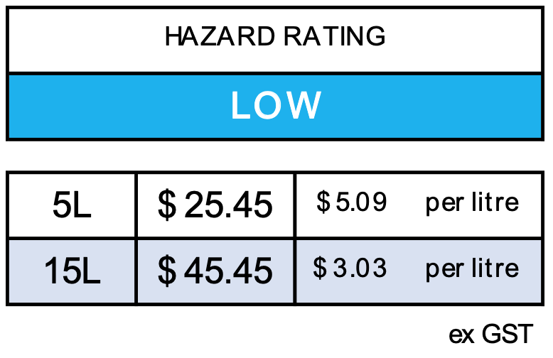 hazard rating for PEARL Liquid Hand Soap